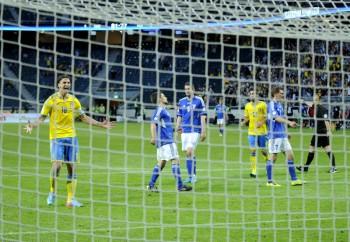 Sweden vs Faroe Islands - thephoto.se/ Rodrigo Rivas Ruiz