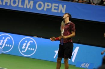 Dimitrov vs Gabashvili - thephoto.se/ Rodrigo Rivas Ruiz