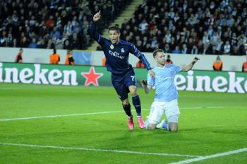 Malmö vs Real Madrid - thehoto.se/Rodrigo Rivas Ruiz