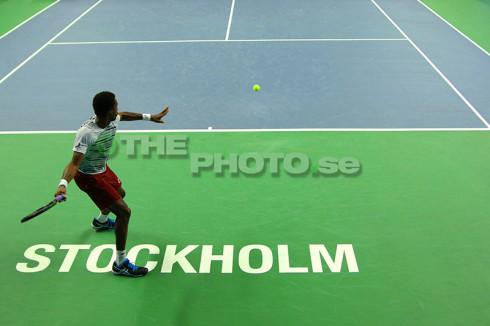 Monfils vs Elias - thephoto.se/Rodrigo Rivas Ruiz