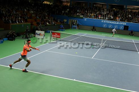 Del Potro vs Isner - thephoto.se/Rodrigo Rivas Ruiz