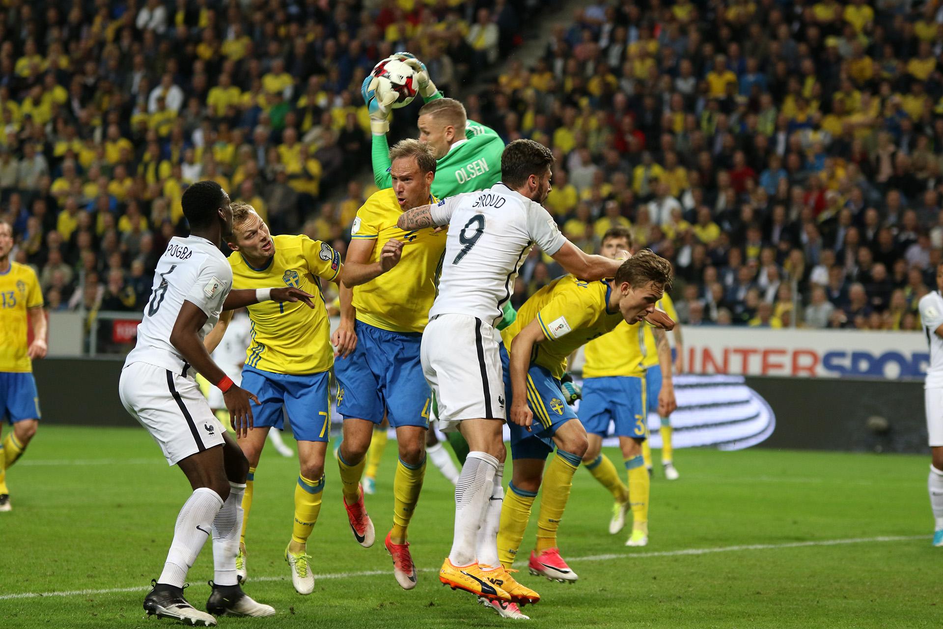 Sweden vs France -thephoto.se/Rodrigo Rivas Ruiz