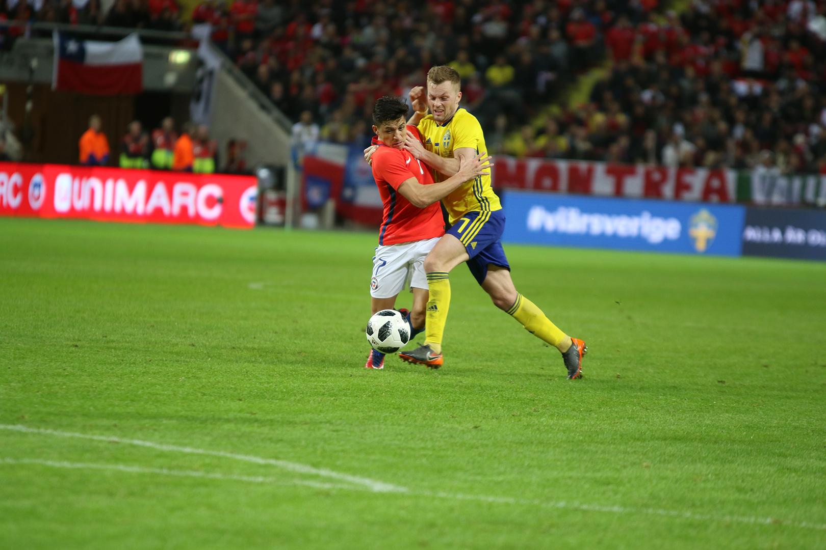 Sweden vs Chile - Rodrigo Rivas Ruiz