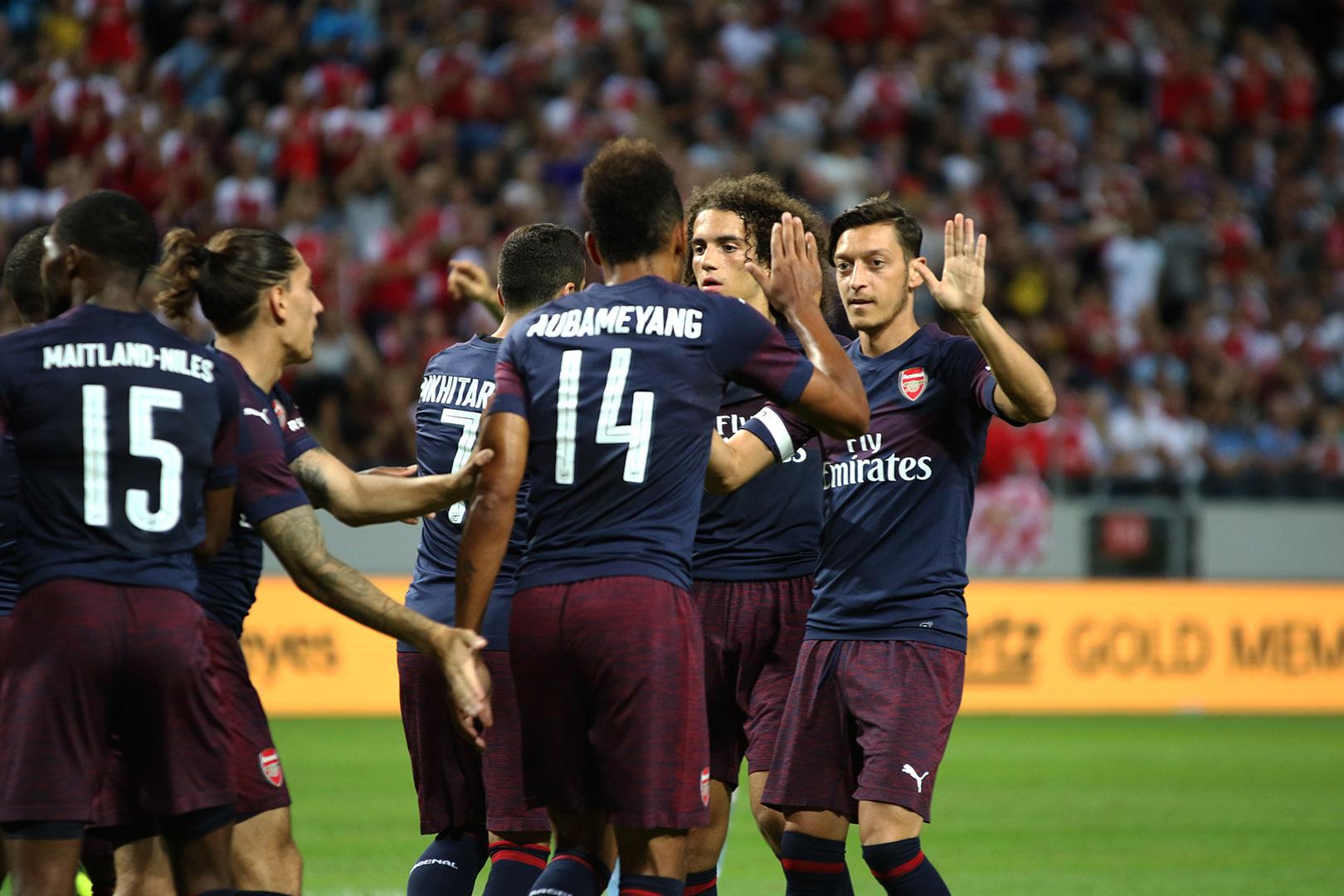 Arsenal vs Lazio - Rodrigo Rivas Ruiz